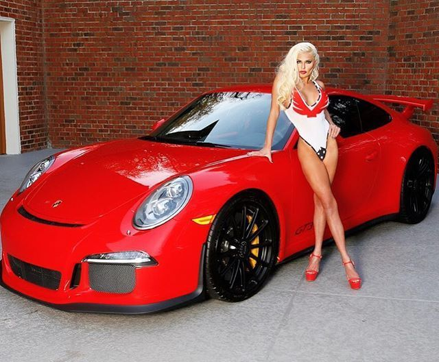 New Cars girl 2019 Gwendolyn Sweet with GT3…