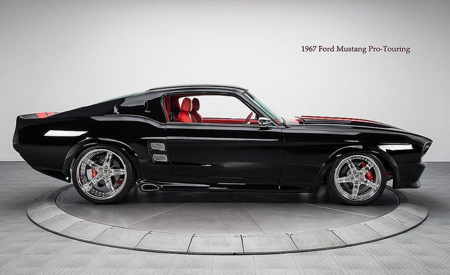Muscle car – 1967 Ford Mustang Pro-Touring