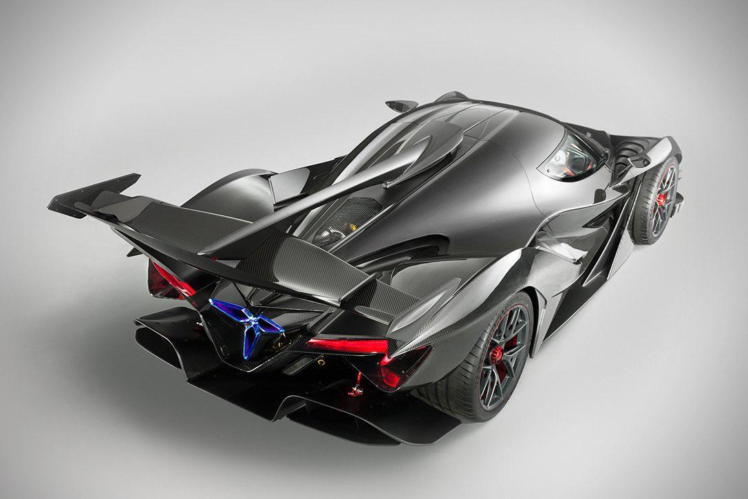 The Apollo's aerodynamics lookin sexy
