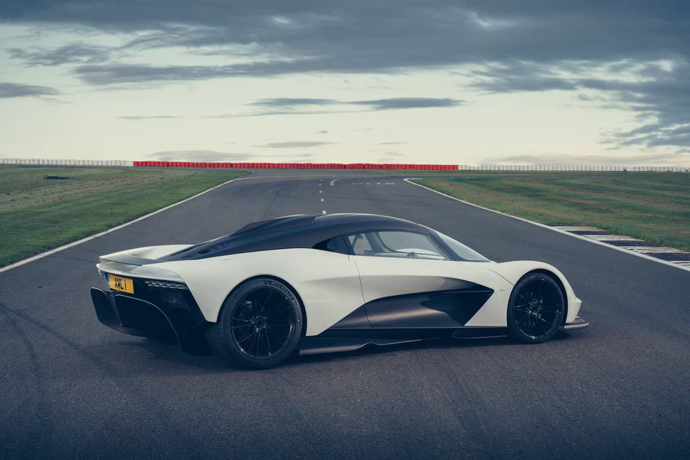 Aston Martin lets its Valhalla hypercar off the leash at Silverstone