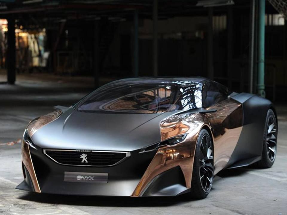 Peugeot Onyx Concept : the best of performance and design, performed by a french…