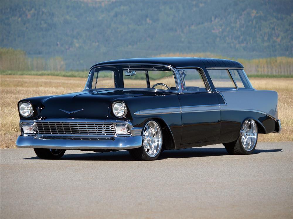 1956 CHEVROLET NOMAD CUSTOM WAGON –  – Barrett-Jackson Auction Company – World's Greatest Collector Car Auctions