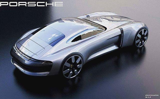 """Car Design Pro on Instagram: """"Porsche GTO by @alexturinsky ;)"""""""