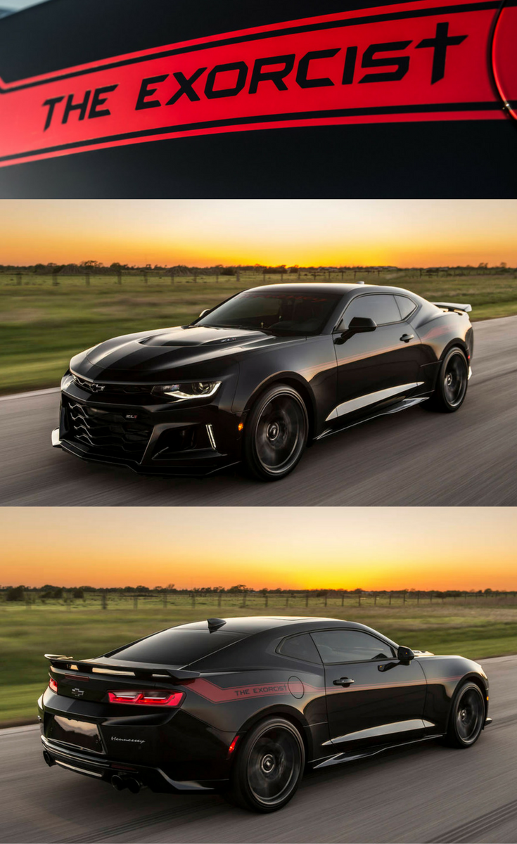 The Exorcist – Chevy Camaro ZL1 designed to chase Demons
