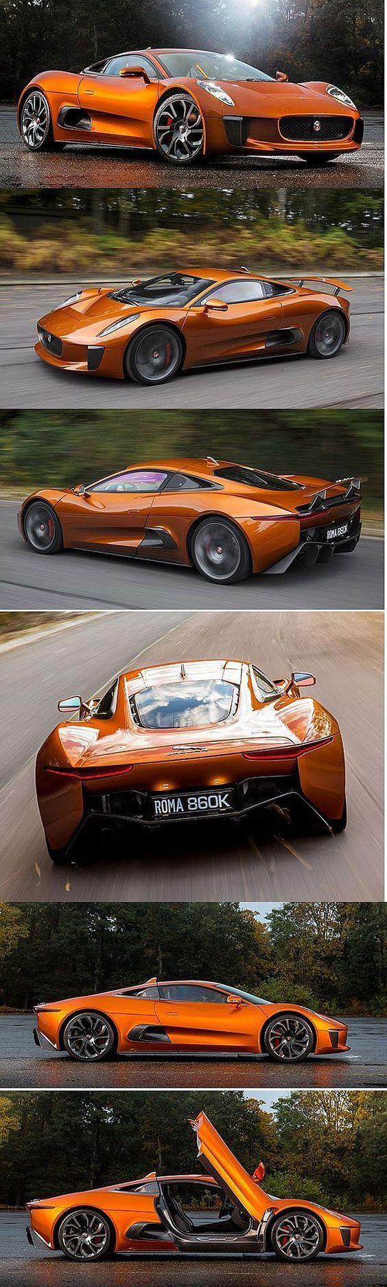 2017 Concept voiture, ''2017 'Jaguar C-X75′ Les constructeurs auto présen…