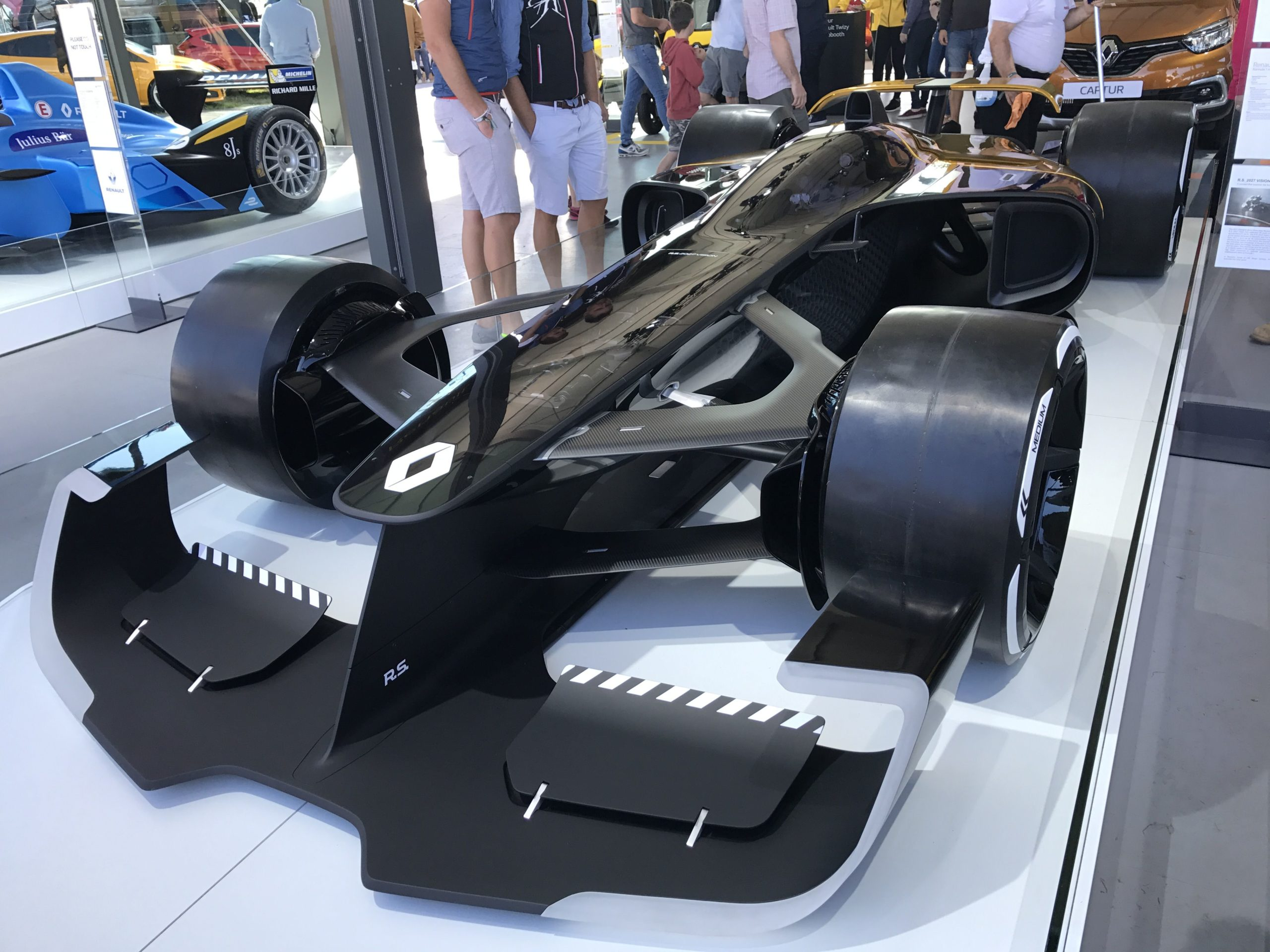 Renault concept racing car (seen at Goodwood FOS) – Andy Pidgeon