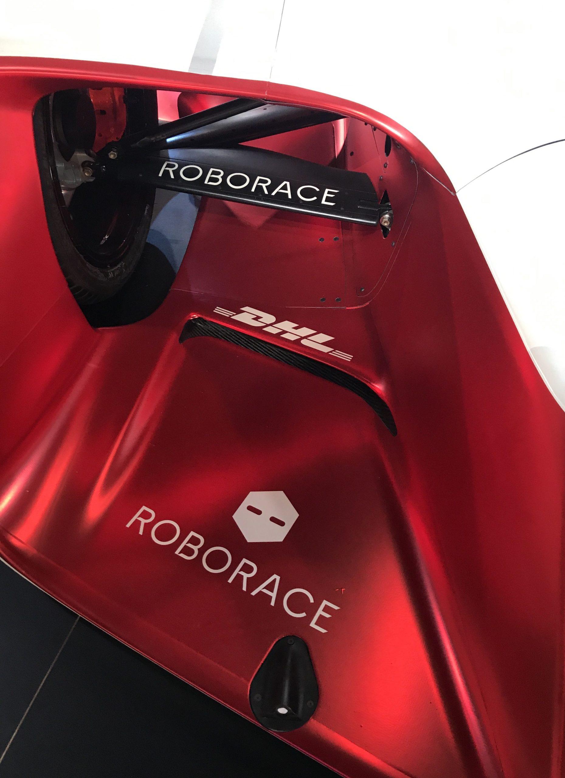 RoboRace driverless racing car (photo – Andy Pidgeon)