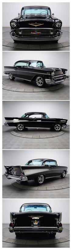 1957 CHEVROLET BEL AIR 2 DOOR CUSTOM HARDTOP – Barrett-Jackson Auction Company – World's Greatest Collector Car Auctions