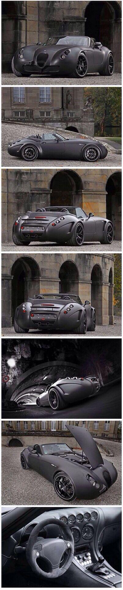 Wiesmann Roadster MF5 V10 Black Bat by SchwabenFolia