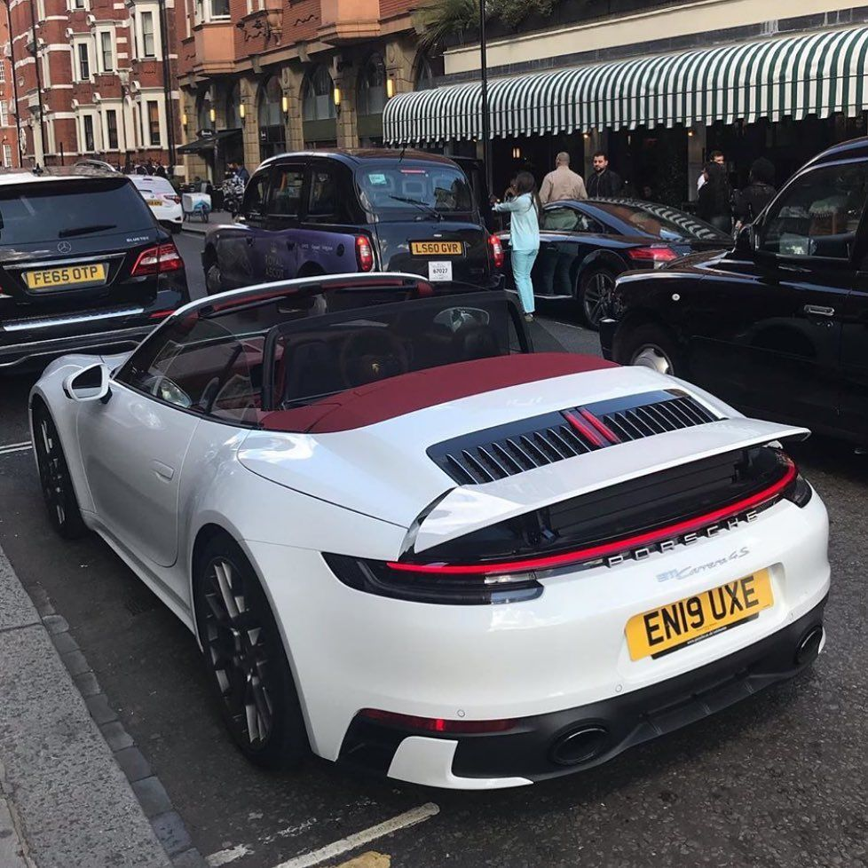 "Porsche Club on Instagram: ""992 Convertible via @r13aad"""