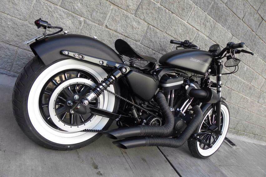 Harley Davidson sportster Iron 883 #harleydavidsonsportsterroadster