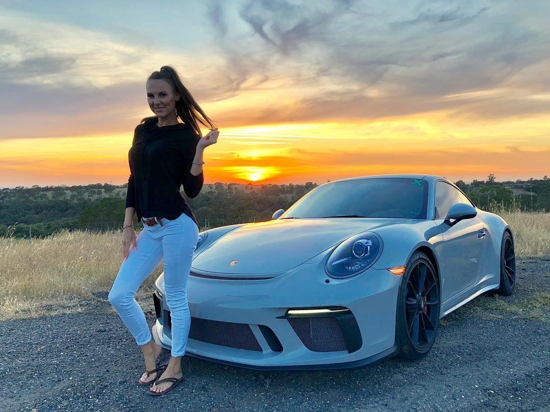 """Jason Bamberg on Instagram: """"Chasing sunsets with my girls. . . . . . . #porsche #911 #911gt3 #964 #1974carrera #911carrera #porschecarrera #porsche911 #991gt3…"""""""