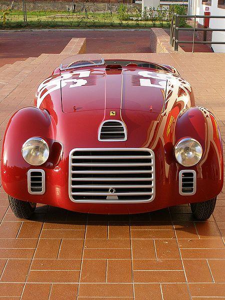 1940 Ferrari 125S.