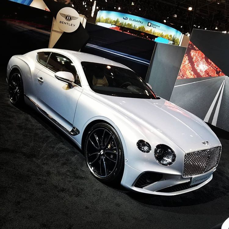 """Jeremy Lloyd on Instagram: """"Bentley Continental GT… get there fast and comfortable… LIKE A BOSS #newyorkautoshow2019"""""""