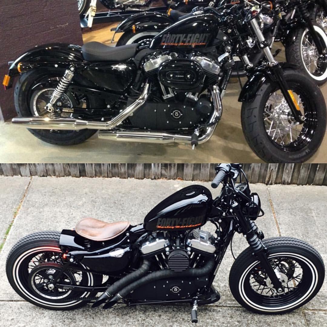 Throwback Tuesdays transformation Tuesday wow I miss my bike  #harleysofinstagra…