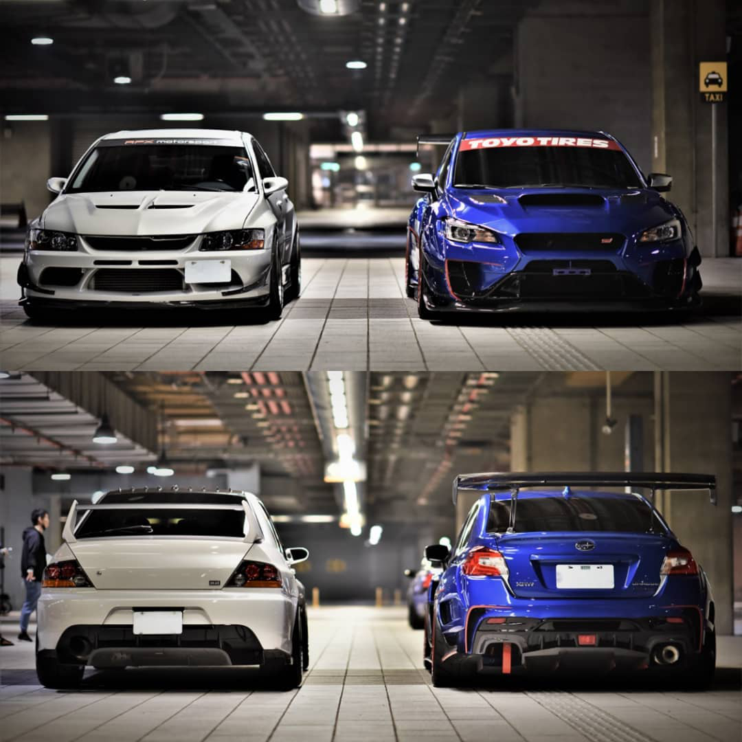 Subaru WRX STI vs. Mitsubishi EVO IX – Which would you choose?