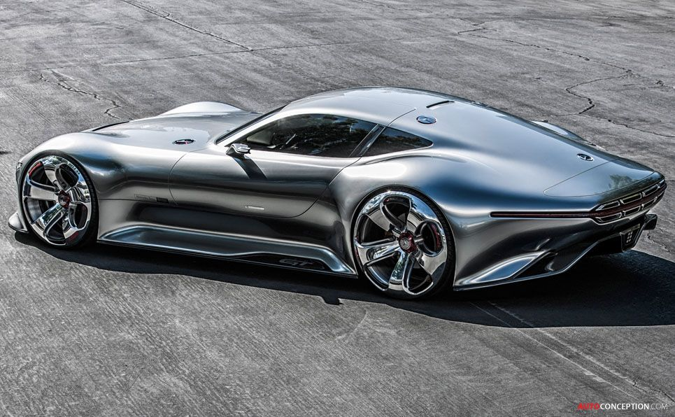'Vision Gran Turismo' Concept Car – Interview with Mercedes Design Chief Gorden Wagener