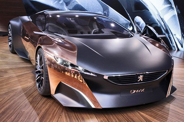 Peugeot's Onyx hybrid supercar may be the belle of the Parisian ball [w/video]