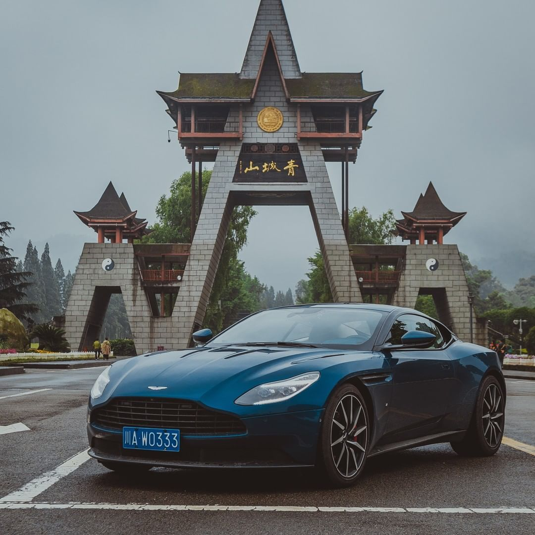 "Aston Martin on Instagram: ""Beautiful To Drive in the Day  We explore the beauty of China and where an Aston Martin can take you.  We hosted a driving tour across 11…"""