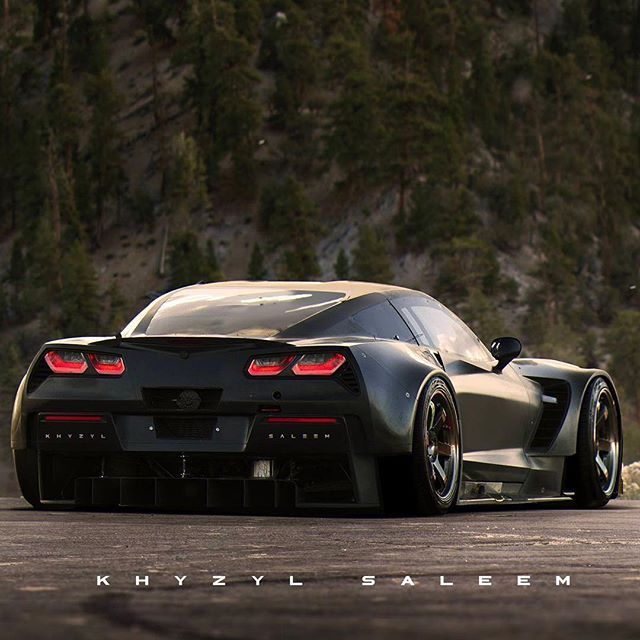 "CarLifestyle on Instagram: ""Widebody Corvette • Photo by @the_kyza • #carlifestyle for a chance to be featured! """
