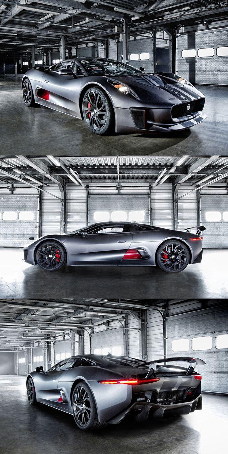 Jaguar C-X75 Hybrid Sport Car. #cars #jaguar
