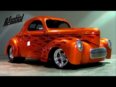 1941 Willys Coupe 502 Big-block V8 Custom Show Car