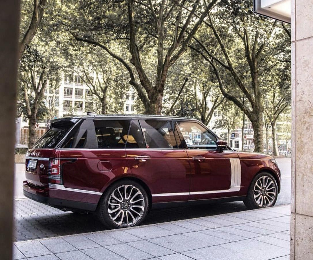 Nice color combination for the new Range Rover #LandRover #Car #autoparts #autor…
