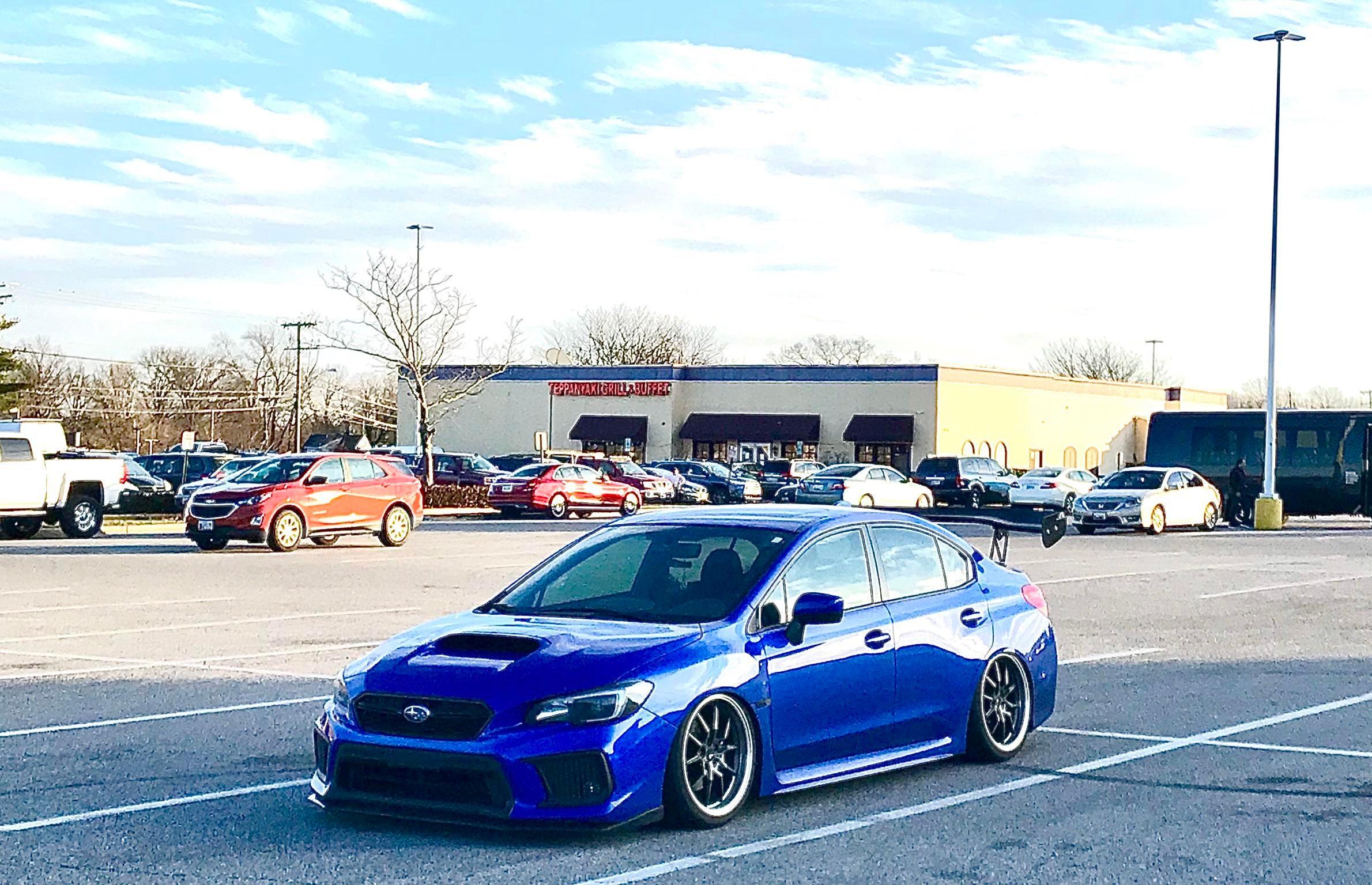 Subaru WRX in the wild