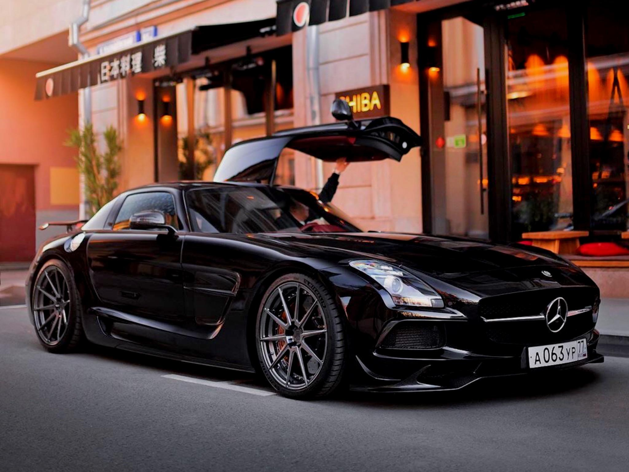 Badass Mercedes SLS Black Series