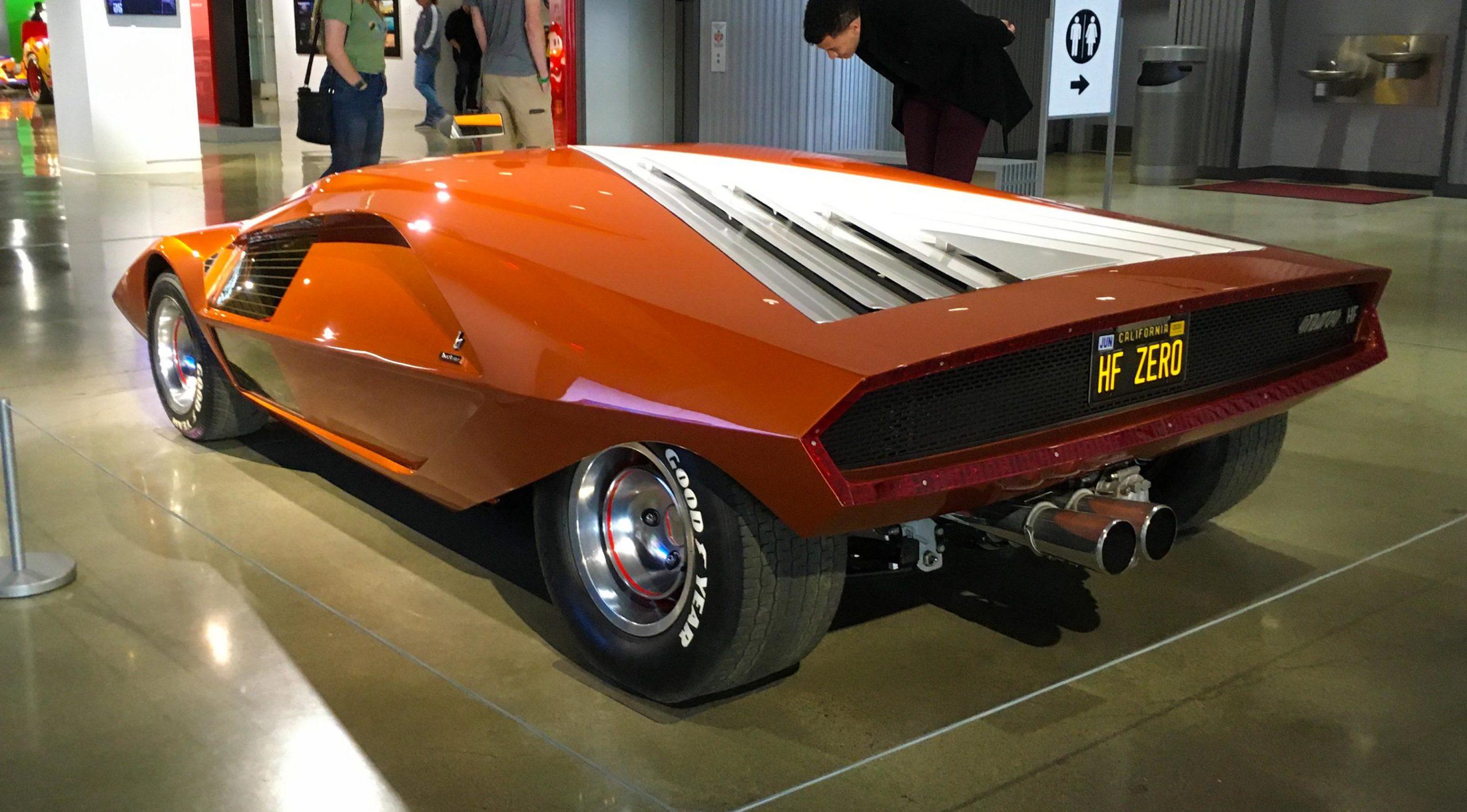 Lancia Stratos HF Zero Concept, Petersen Auto Museum