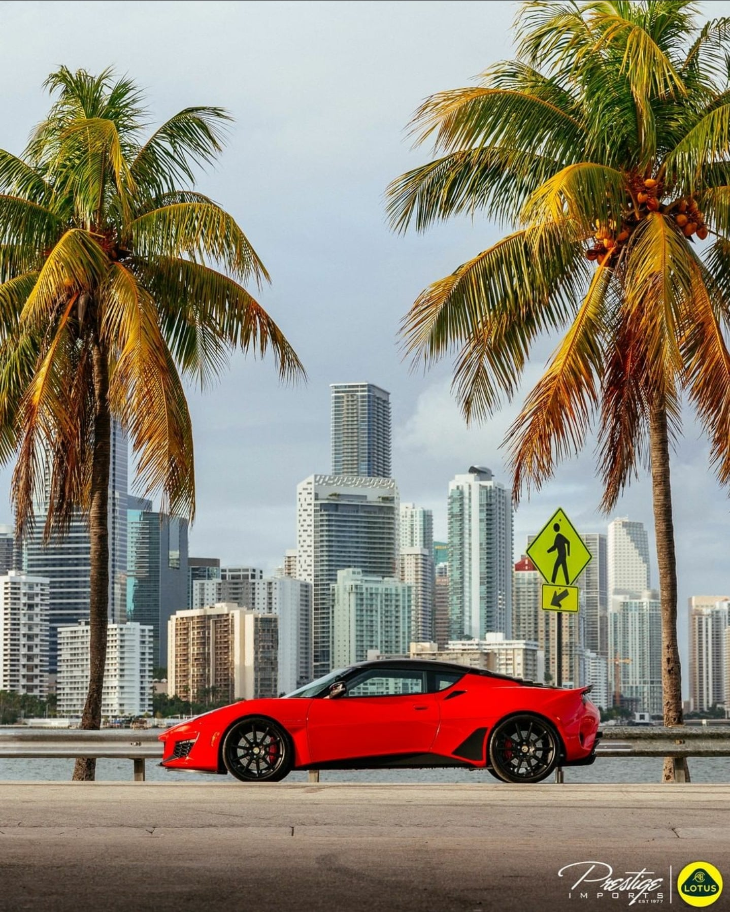 Lotus Evora GT on the Lotus of Miami Instagram account
