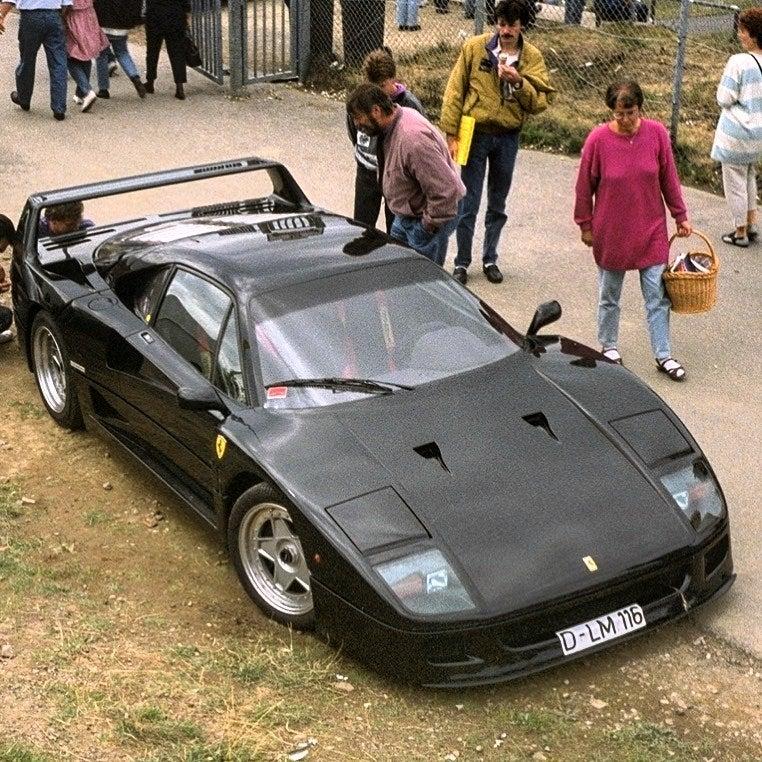 Black Ferrari F40