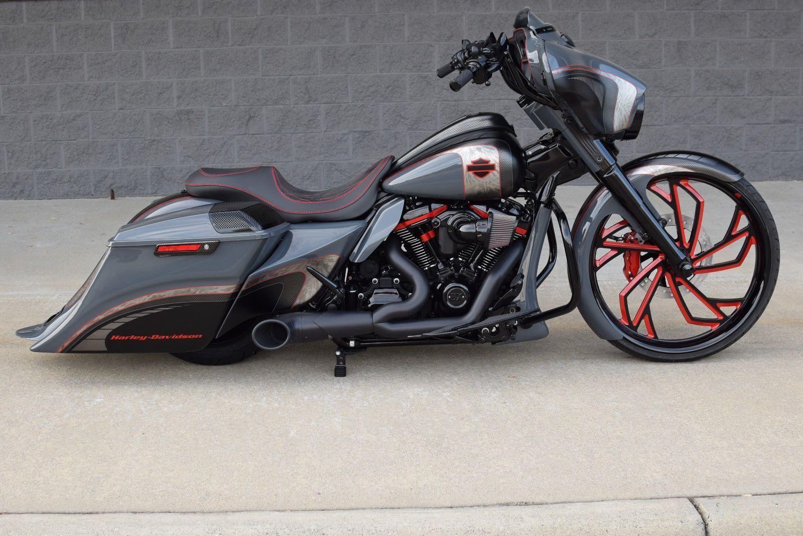 eBay: 2018 Harley-Davidson Touring 2018 STREET GLIDE BAGGER *1 OF A KIND* 26″ WH…