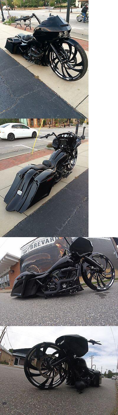 Motorcycles: 2014 Harley-Davidson Touring 32 Custom Bagger Harley Street Glide B…