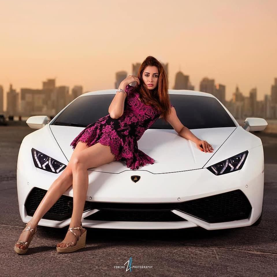 Which one would you choose?? Car or Girl ?? A tough decision Follow Supercars.of…