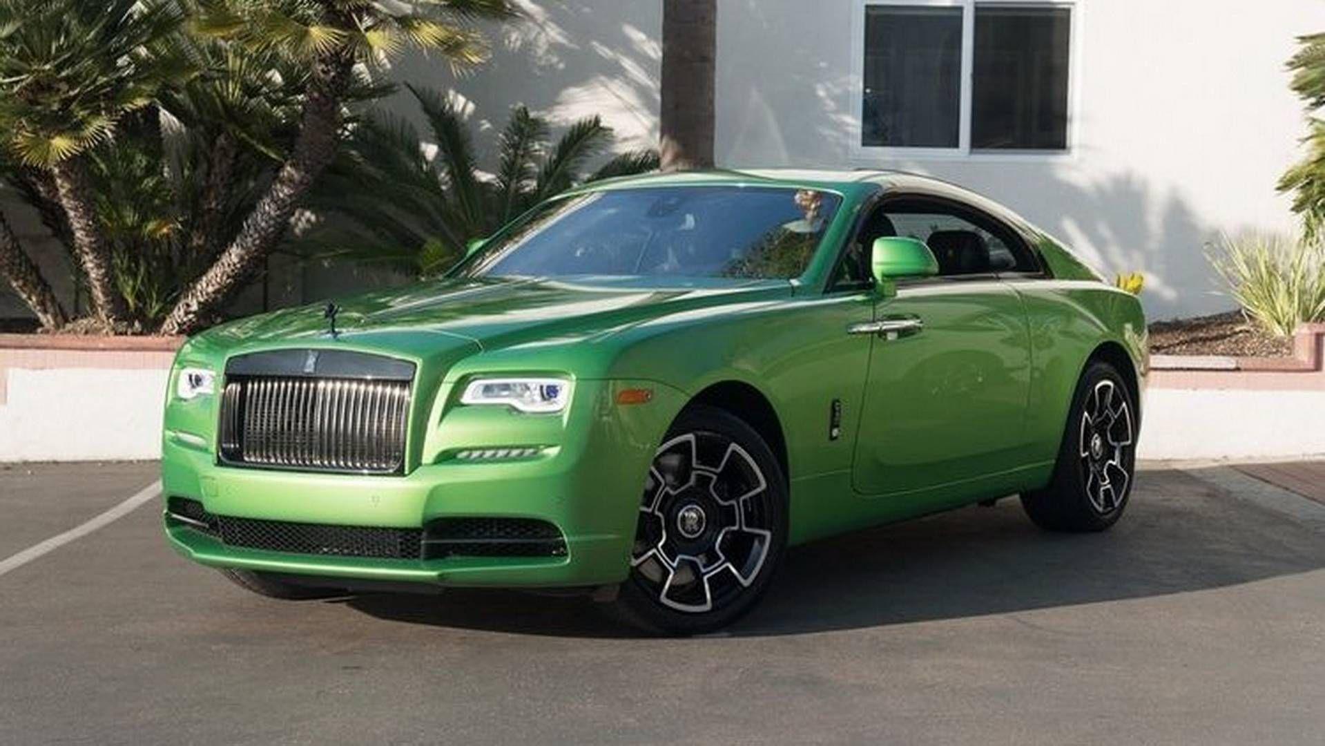 Rolls Royce Wrait Verde | Club Privado Caballeros