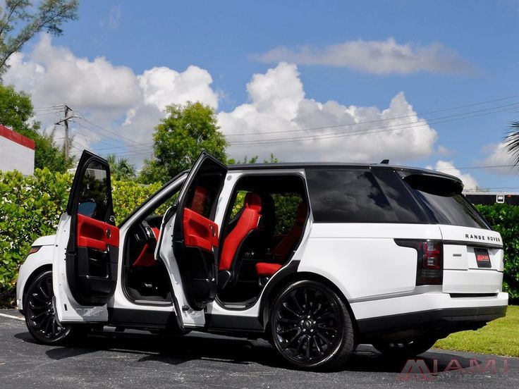 For Sale: 2016 Land Rover Range Rover Autobiography Rare White/Red 2016 Range Ro…
