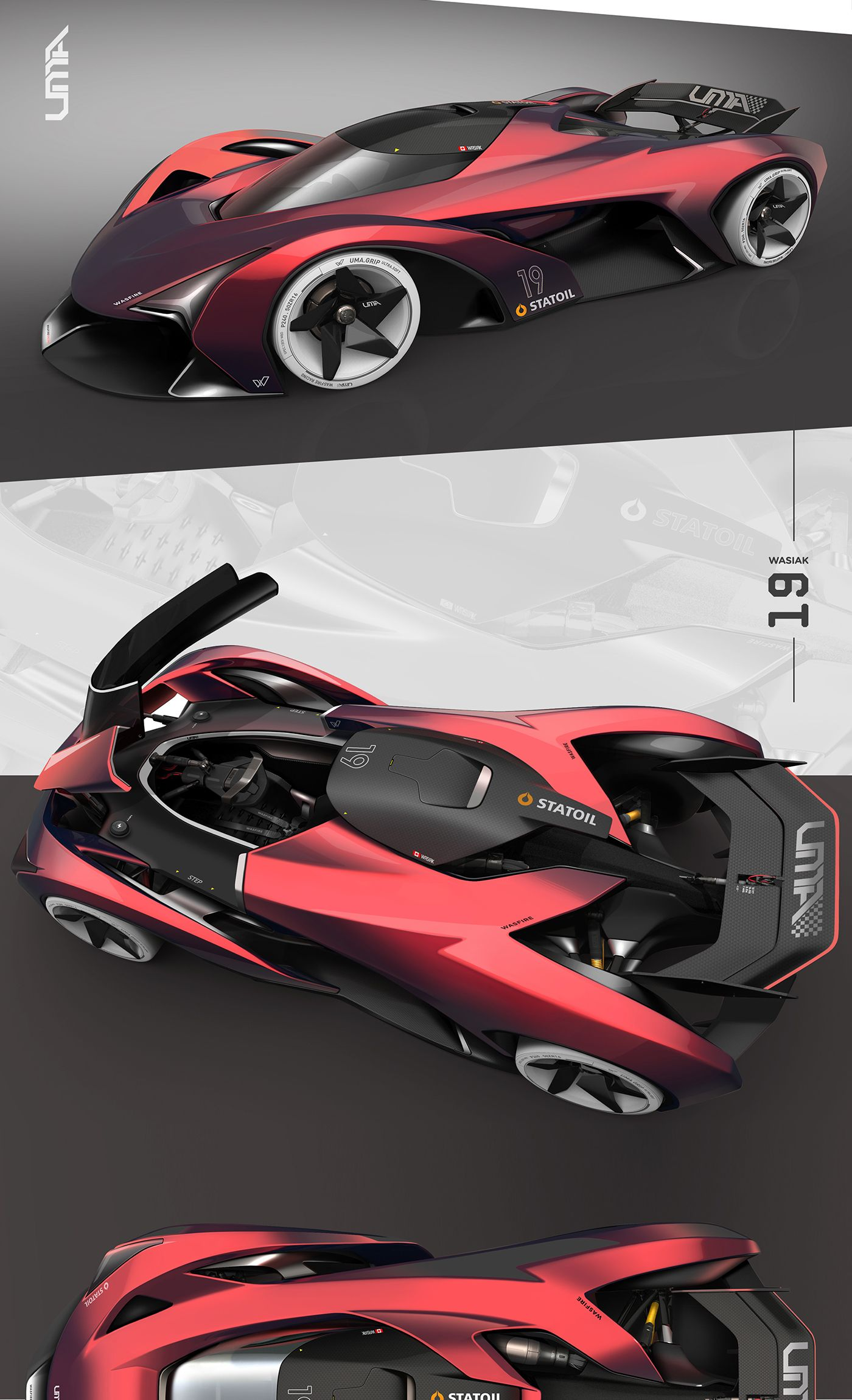 UMA GT + Wasfire Racing