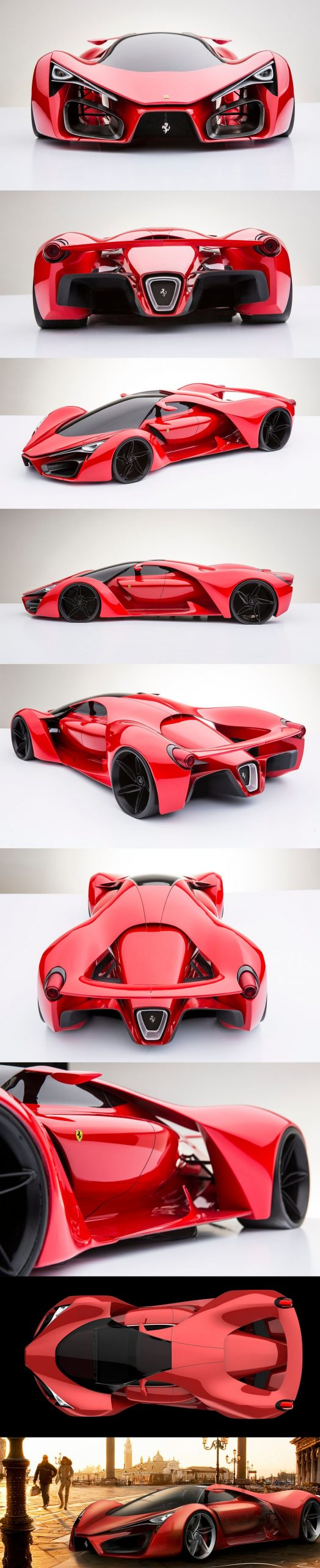 From car mechanic to Millionaire. BE ready Ferrari F80 Supercar Concept