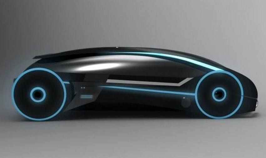 Futuristic Vehicle, TRON Car