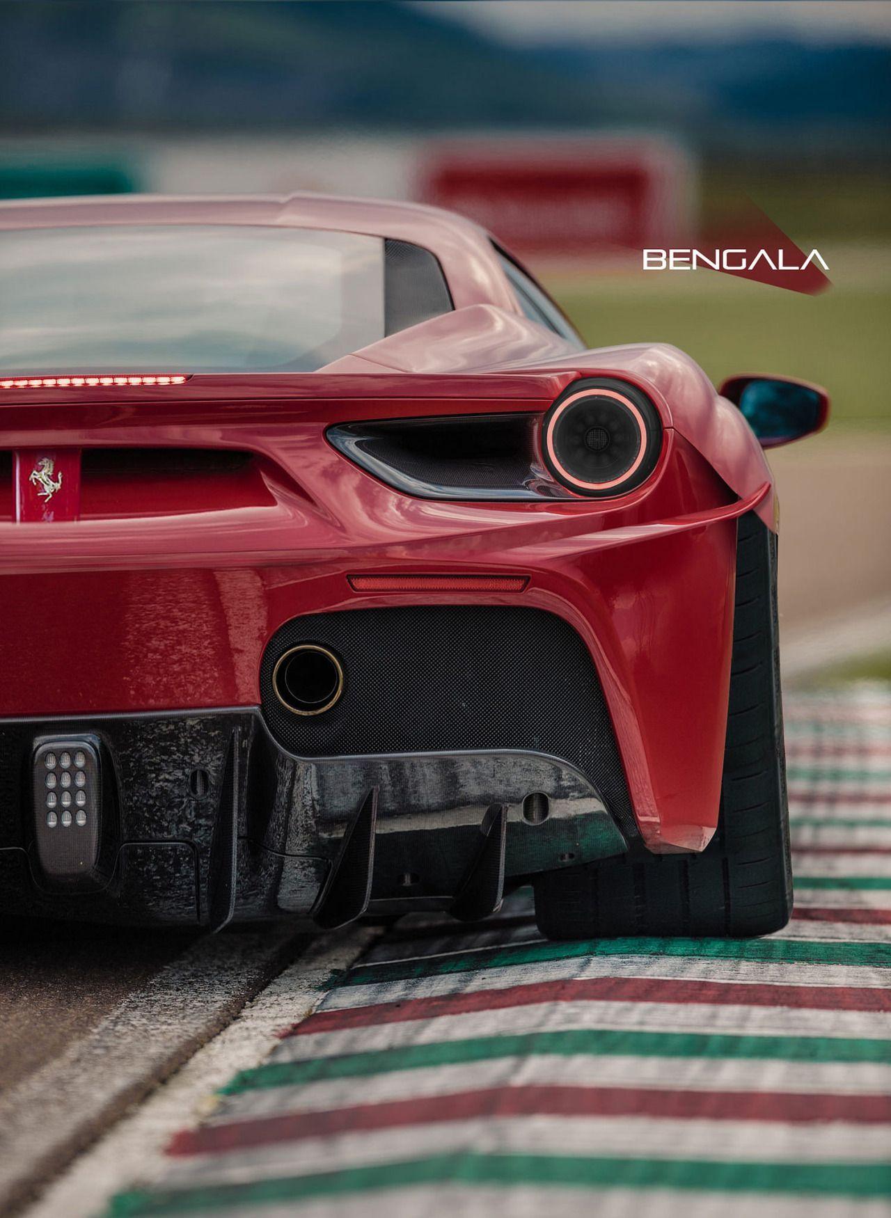 488GTB by Bengala AutoDesign #Ferrari488gtb