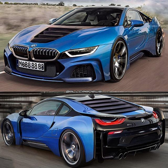 "All Car News on Instagram: ""BREAKING🔥2018 I8 WILL SLAY😱 – 🇩🇪 NEW details on the NEXT i8!! It's gonna be a supercar finally!!(in 2022) 🔥We're talking 750HP from THREE…"""