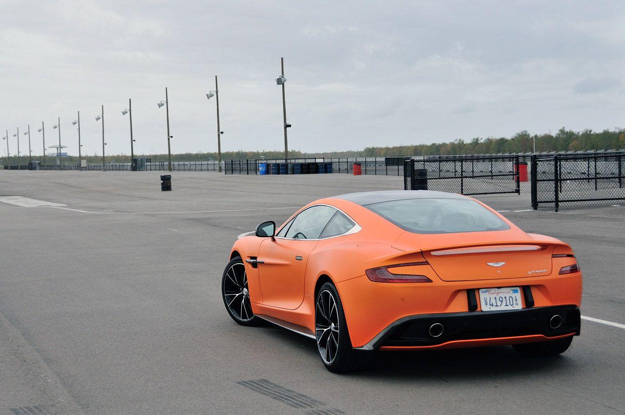 2014 Aston Martin Vanquish [w/video]