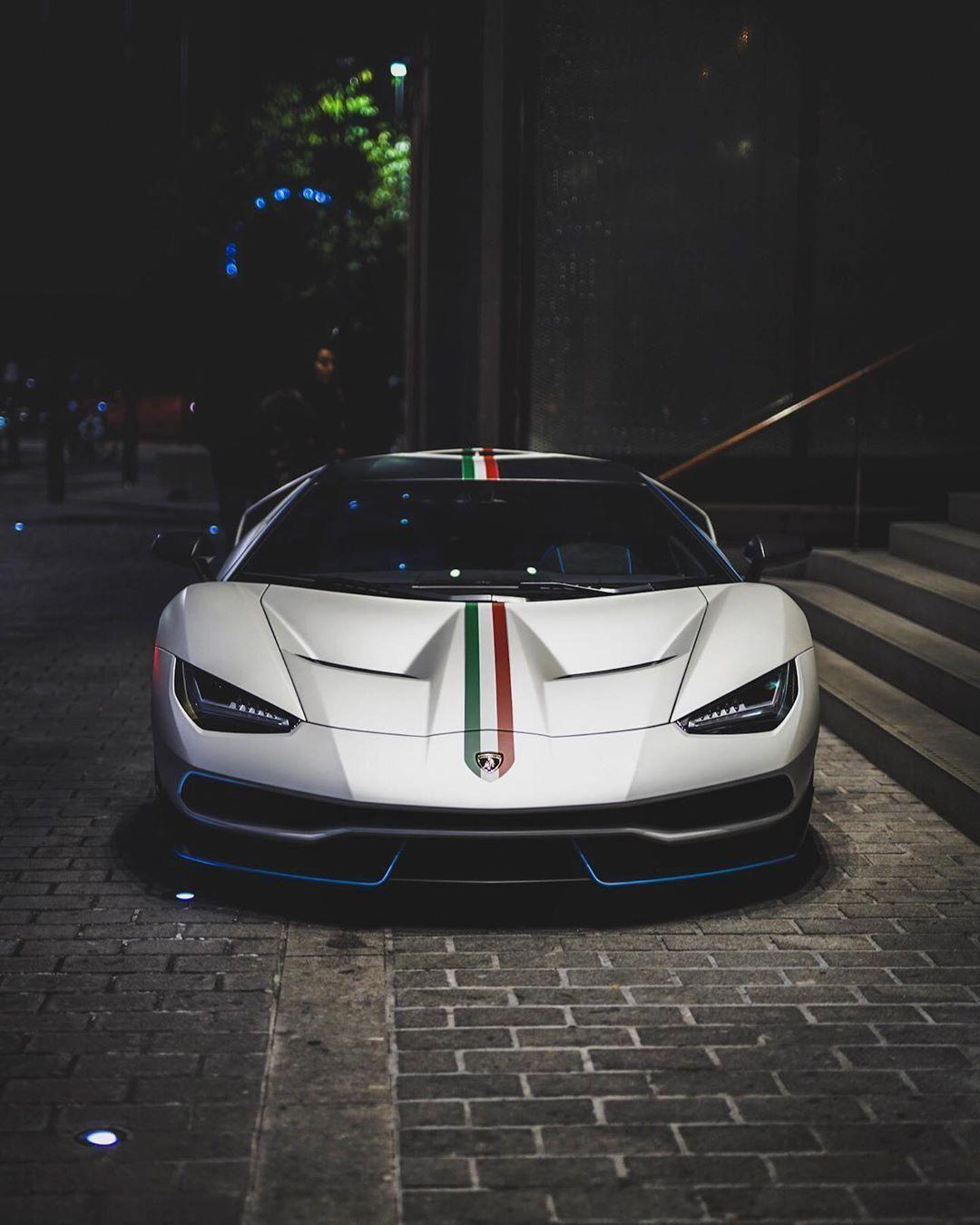 Lamborghini Centenario stare down