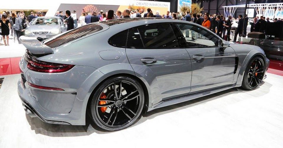 For Better Or For Worse? TechArt's GrandGT Porsche Panamera | Carscoops