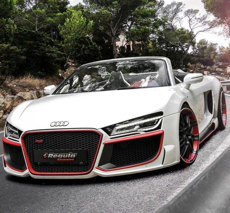 2013 Audi R8 Convertible from the team over at REGULA Tuning. —— Tell Me Thi…