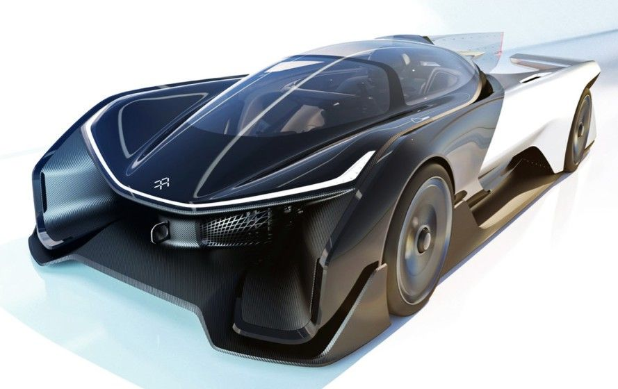 Faraday Future unveils insane 1,000 horsepower electric car at CES