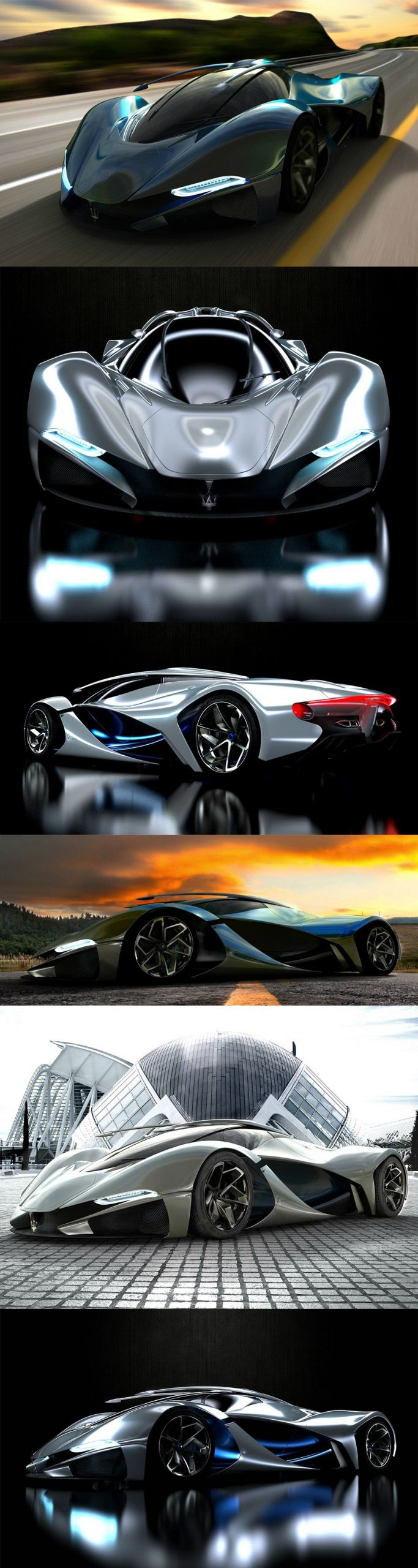 LaMaserati – Concept Car by Mark Hostler