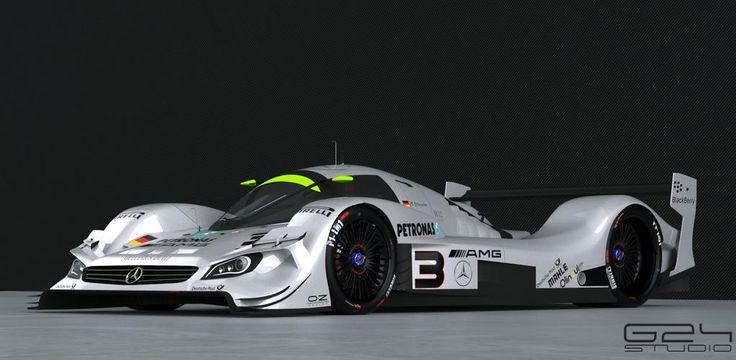 Mercedes LMP1 Concept