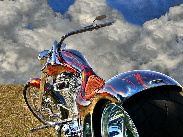 Facing the Clouds | Totally Rad Choppers